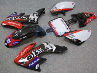 SOBE GRAPHICS DECALS PLASTIC KIT HONDA CRF50 XR50 DE03+
