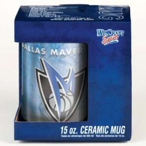 DALLAS MAVERICKS 15OZ CERAMIC COFFEE MUG Sports