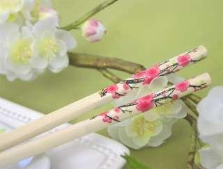 100 Cherry Blossom chopstick Asian Wedding Bridal Favor