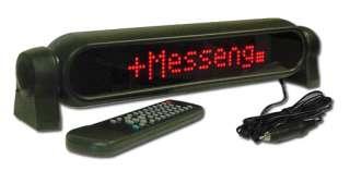 LED Display Sign Mini Romote Programmable for Car / Biz