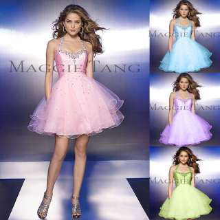 Graduation Sweet 16 Bridesmaid Cocktail Birthday Prom Party Dress
