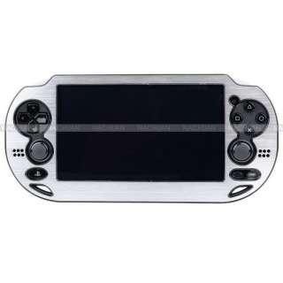 Metal Skin Protective Hard Case Cover Shell fr Sony PS Vita PSV Silver