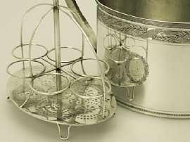 Antique Georgian English Sterling Silver Egg Warmer