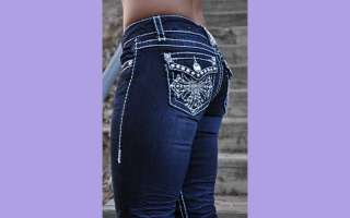 CAPRIS LA IDOL JEANS SZ 1 13 jeweled cross design FAST FREE SHIPPING
