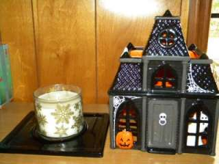 Bath Body Works Harry Slatkin Lg Haunted House Luminary
