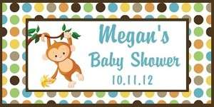 25 Personalized Baby Shower Hand Sanitizer Labels