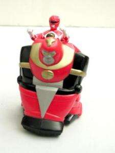 Jason POWER RANGERS Red in APE Vehicle 1995 VGd