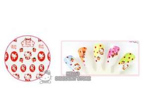 Hello Kitty Nail Art Stickers  Red