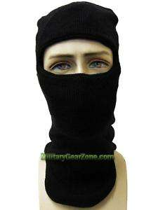 Military Issue Black Balaclava Cold Weather Face Mask