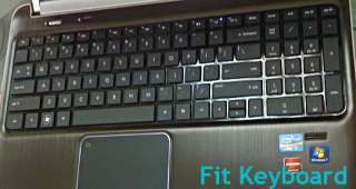 TPU Keyboard Cover Protector Skin HP DV6T QUAD EDITION