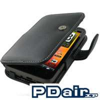PDair Genuine Leather Book Case for HTC Inspire 4G