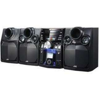 JVC MX KC68 Mini Hi Fi 400W iPod Docking CD AM/FM Speaker System