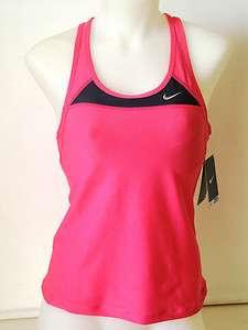Nike Womens Airborne Long Sport Bra Top Tank Tennis Run