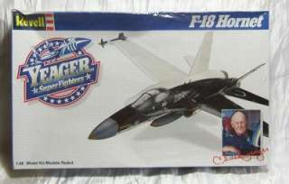 NIB Vintage Revell Yeager Super Fighter F 18 Model 1:48
