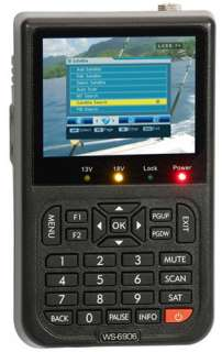 SATLink WS 6906 DVB S FTA Digital Satellite Finder NEW