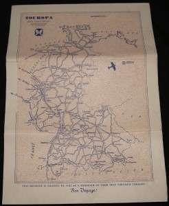 VINTAGE WEST GERMANY TRAVEL & TOUR BROCHURE GUIDE 1956