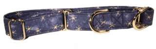 Denim Stars Martingale Pet Dog Collar