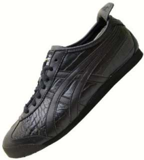 ASICS ONITSUKA TIGER MEXICO 66 crocodile black  Schuhe