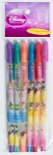Disney Princess Ariel Snow White 6 Scented Gel Pens