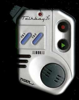 TIGER ELECTRONIC TALK BOY JR VOICE RECORDER MINI HANDHELD HOME ALONE