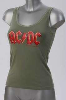 AC/DC Tank Top, Damen, Druck AC/DC, Special Offer