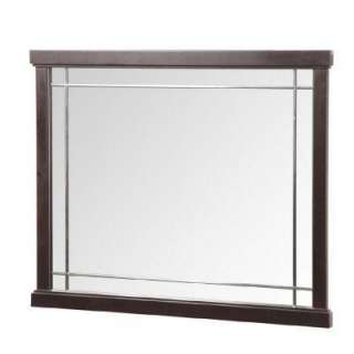 Foremost Zen 38 In. Vanity Mirror in Espresso ZEEM3831 at The Home