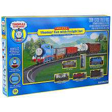 Bachmann   Deluxe Thomass Fun with Freight Electric Train Set