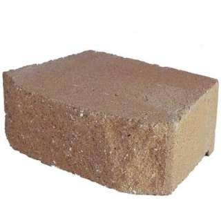 11 5/8 In. Tan Concrete Garden Wall Block 81106.0