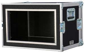 10 space ATA SHOCK RACK CASE 10U SHOCK MOUNT 18 deep