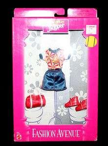 1998 Teen Skipper Fashion Avenue Clothes Barbie Mint NIB