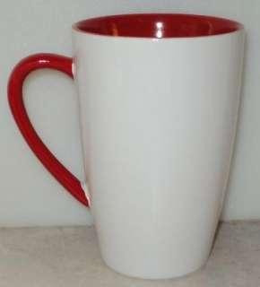 Heart Love Yosemite Latte White Red Coffee Cup Mug