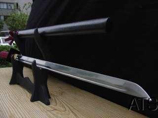 Japanese Ninja Straight Blade Sword Ninjato Full Tang Iaito