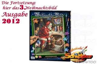 Malen nach Zahlen   Schipper   limitiertes Weihnachtsbild 2012 40x50cm