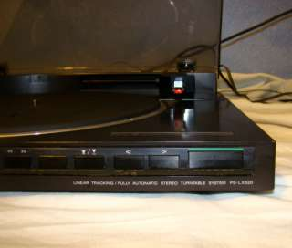 SONY PS LX520 Turntable Stereo System Record Player Antique