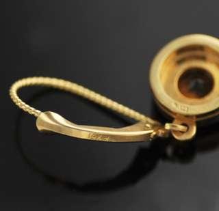 New Stuller Orange Citrine 14k Yellow Gold Earrings