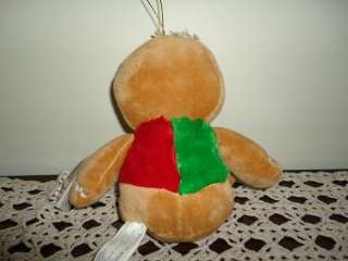 Gingerbread Man Velvet Stuffed Plush Doll