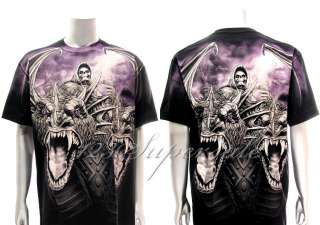 XXXL Rock Eagle T shirt Special Tattoo Skull Death Angel Monster Rock
