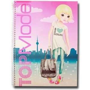Depesche Top Model Collageblock DIN A4 Berlin Schreibblock kariert