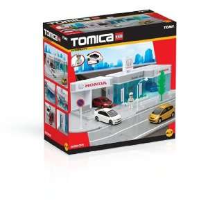 Tomy 85305   Tomica   Honda Autohaus mit Auto  Spielzeug