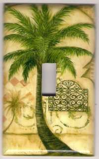 Palm Tree Decorative Light Switch Plate cover #2