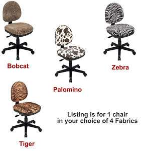 Design Fabric Swivel Desk Deluxe Office Manager Task Chair