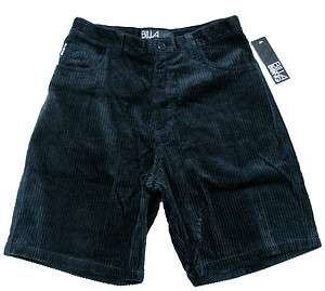 BILLABONG Boys Dark Navy Blue Corduroy Shorts NWT $34