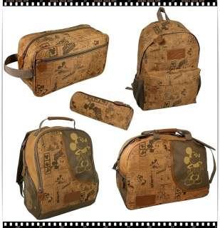 REISETASCHE Reise Sport Tasche für Kinder MICKEY MOUSE Retro Style