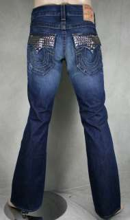 True Religion Jeans Mens BILLY STUDS Lasso AUTHENTIC 24858BQF