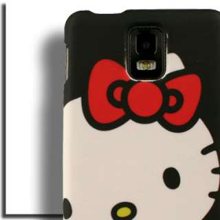 Case for Samsung Infuse 4G Hello Kitty Cover Faceplate