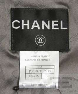 Chanel Pink & Brown Tweed Wool & Silk Jacket 08A, Size 38