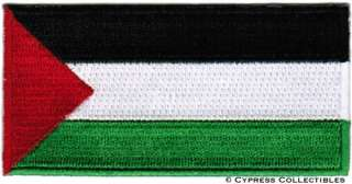 PALESTINE FLAG embroidered iron on PATCH PALESTINIAN