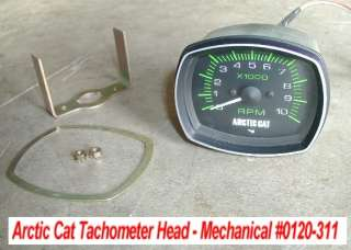 Arctic Cat Tachometer # 0120 311 Mechanical Vintage NOS 77 81