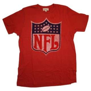 NFL Football Logo Junk Food Originals Vintage Style Soft T Shirt Tee