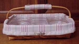 Longaberger 2002 Back Porch Basket Set L/P/TO